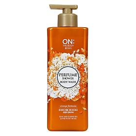 Sữa Tắm Nước Hoa On The Body Orange Fantasia Chai 500g