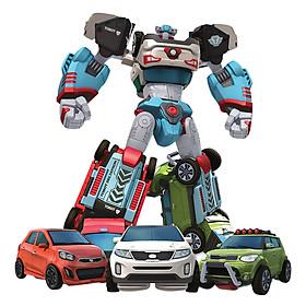 Đồ Chơi Lắp Ráp Young Toys - Tobot Mini Deltatron