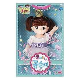 Đồ Chơi Búp Bê Ballerina Young Toys - Kongsu-Ni (Tím Nhạt)