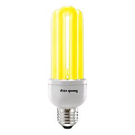 Bóng Đèn Compact Điện Quang ĐQ-CFL-3U-T4-14W-WW-E27 - Ánh Sáng Vàng