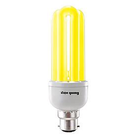 Bóng Đèn Compact Điện Quang ĐQ-CFL-3U-T4-18W-WW-E27 - Ánh Sáng Vàng