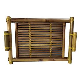 Khay Tre Nhỏ Gốm Sứ Bát Tràng T709 30 x 20 x 4 cm