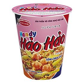 Thùng 24 Ly Mì Hảo Hảo Handy Hương Vị Tôm Chua Cay