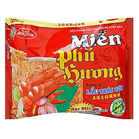 Thùng 24 Gói Miến Phú Hương Hương Vị Lẩu Thái Tôm Acecook