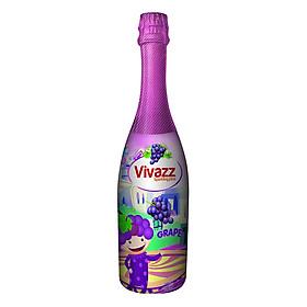 Nước Trái Cây Có Gas Vivazz Sparkling Juice Trẻ Em Nho R0106013 (720ml)