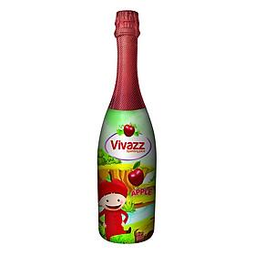 Nước Trái Cây Có Gas Vivazz Sparkling Juice Trẻ Em Táo Đỏ R0106012 (720ml)