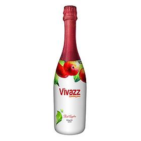 Nước Trái Cây Có Gas Vivazz Sparkling Juice Người Lớn Táo Đỏ R0106015 (720ml)