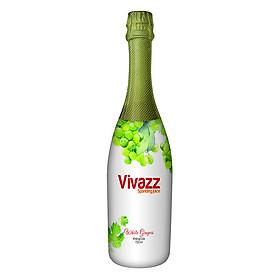 Nước Trái Cây Có Gas Vivazz Sparkling Juice Người Lớn Nho Xanh R0106017 (720ml)