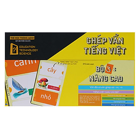 Thẻ Học Thông Minh Alphabooks Ghép Vần Tiếng Việt – Bộ 3: Nâng Cao (Tái Bản)