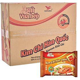 Thùng 30 Gói Mì Vua Bếp Kim Chi Hàn Quốc Unif 85Gr