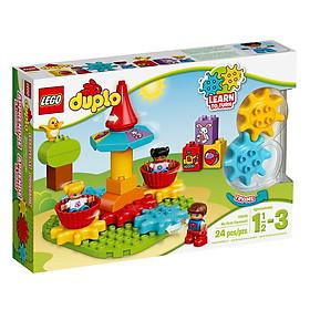 Mô Hình Đồ Chơi Lego Duplo - Vòng Xoay Đầu Tiên Của Bé 10845 (24 Chi Tiết)