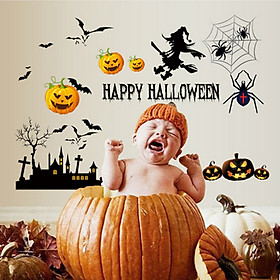 Decal Halloween Lala Shop DC598 - Mẫu 1 (110 x 110 cm)