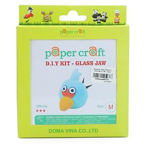 Hình đại diện sản phẩm Hộp Bán Thành Phẩm Tự Làm Paper Craft - Angry Bird - Xanh - M