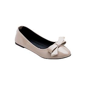 Giày Búp Bê Nơ Me Girl 92188 - Kem