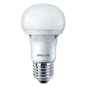 Bóng Đèn Philips LED Ecobright 8W 6500K E27 A60 - Ánh Sáng Trắng - Hàng Chính Hãng
