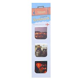 Bộ 3 Bookmark Nam Châm Kính Vạn Hoa - Hội An 2 (Màu)