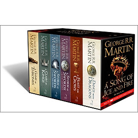 A Song Of Ice And Fire: The Story Continues, 6 Vol (Paperback) - A Game of Thrones Book Series
