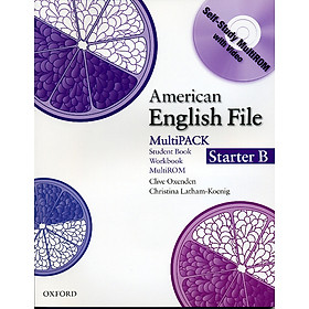 American English File Starter: Student Book/Work Book Multipack B