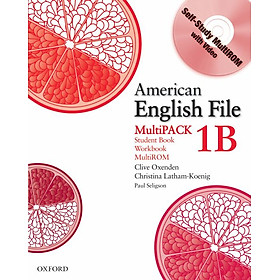 American English File 1 Student Book/Workbook Multipack B
