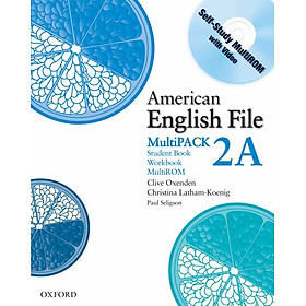 American English File Level 2 Student and Workbook Multipack A