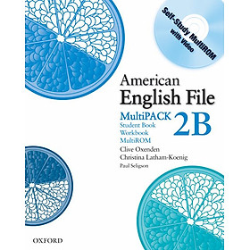 American English File Level 2 Student and Workbook Multipack B