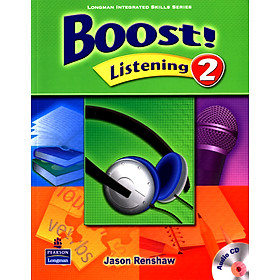 Boost! Listening 2: Student Book with CD