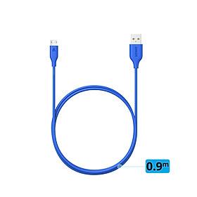 Dây Cáp Sạc Micro USB Anker PowerLine 0.9m - A8132 - Hàng Chính Hãng
