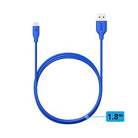 Dây Cáp Sạc Micro USB Anker PowerLine 1.8m - A8133 - Hàng Chính Hãng