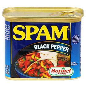 Thịt Hộp Hormel Spam Black Pepper 340g