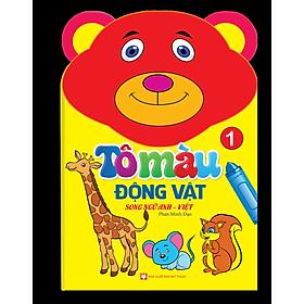 Tô Màu Động Vật - Song Ngữ Anh - Việt (Tập 1)