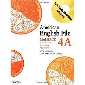American English File Level 4: Student Book/Workbook Multipack A