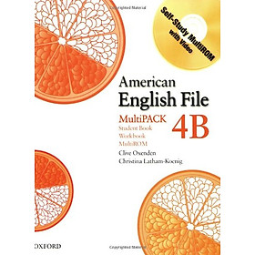 American English File Level 4 Student Book/Workbook Multipack B