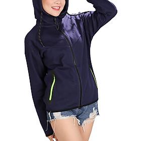 Áo Khoác Nữ Chống Tia UV Cửu Long AKCL-XD - Xanh Đen