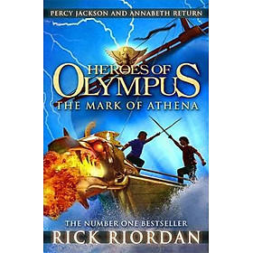 Hero Of Olympus - The Mark Of Anthelna (Paperback)