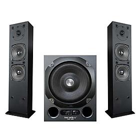 Loa Vi Tính SoundMax AW-300/2.1 80W Tích Hợp Bluetooth 4.0 - Hàng Chính Hãng