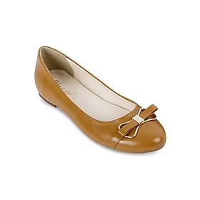 Giày Búp Bê Đính Nơ Up & Go B01-347-BRO - Nâu