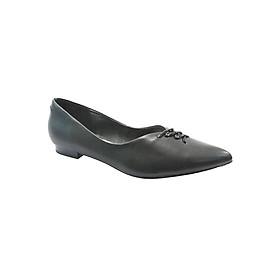 Giày Búp Bê Mũi Nhọn Up & Go B01-568-BLA - Đen