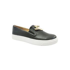 Giày Slip On Đế Bánh Mì Up&Go B02-574-BLA - Đen