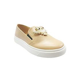 Giày Slip On Đế Bánh Mì Up&Go B02-574-CRE - Kem