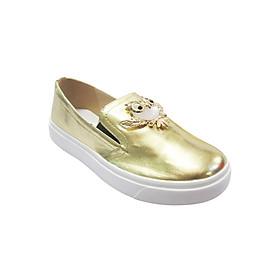 Giày Slip On Đế Bánh Mì Up&Go B02-574-GOL - Vàng Bóng