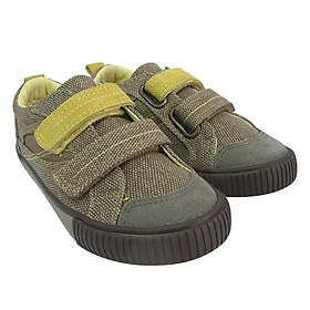 Giày Sneaker Bé Trai D&A B1508 - Kaki Phối Vàng