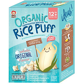 Bánh Mầm Gạo Organic Apple Monkey