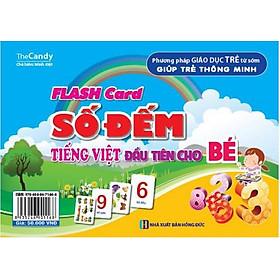 Flash Card Số Đếm Tiếng Việt Đầu Tiên Cho Bé