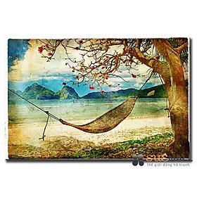 Tranh Treo Tường Canvas Suemall CV140875 - Biển Đảo