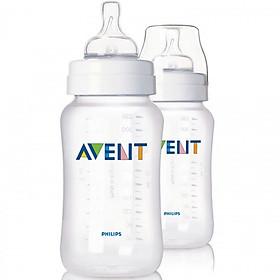 Bộ 2 Bình Sữa Nhựa PP Philips Avent- 566.27 (330ml)