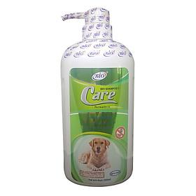 Sữa Tắm Chó Mèo Trị Ve Ghẻ, Bọ Chét, Rận Tai Bio (500ml)