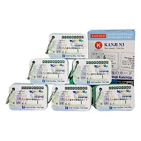 Bộ KatchUp Flashcard Hán Tự N3 (Kanji N3) - High Quality