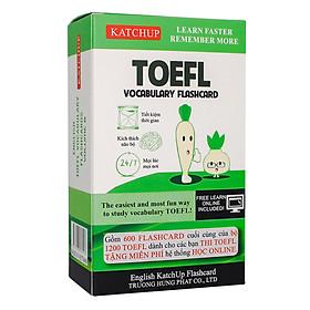 Bộ KatchUp Flashcard TOEFL B - High Quality