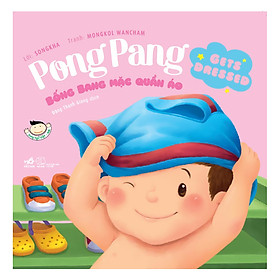 Hình ảnh Picture Book - Pong Pang: Bống Bang Mặc Quần Áo