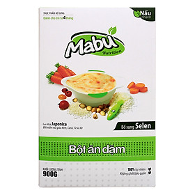 Bột Ăn Dặm Mabu (900g)